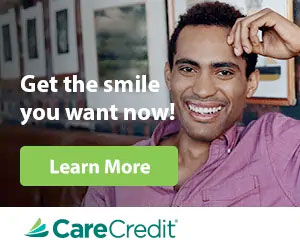 Learn more about dental financing with CareCredit