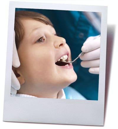 teeth cleaning child